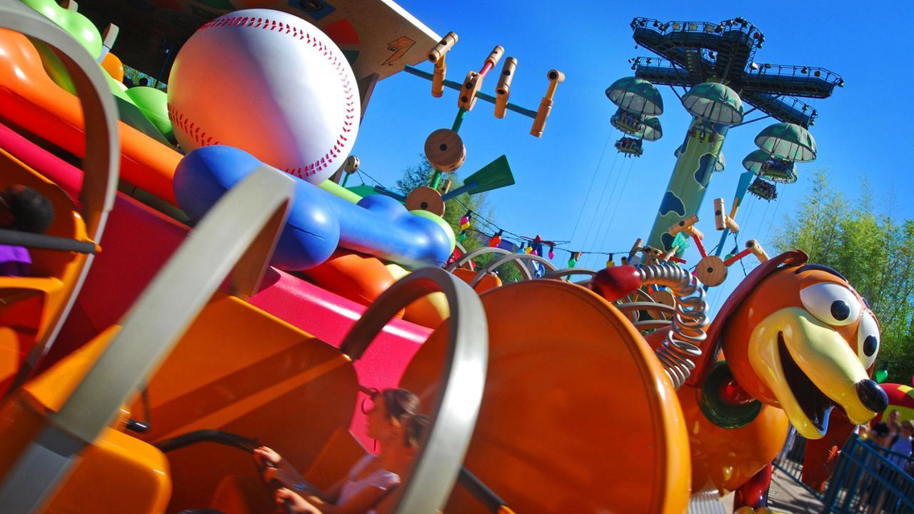 Ontdek Walt Disney Studios Park: Slinky Dog Zig Zag