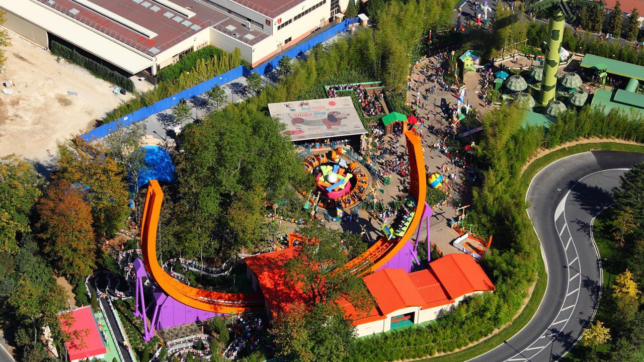 Ontdek Walt Disney Studios Park: RC Racer