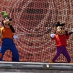 Dans mee met Goofy & Max